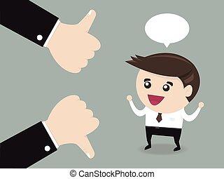 realimentação, conceito negócio, vetorial