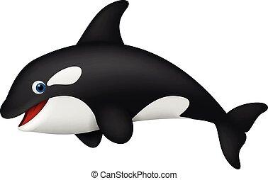 realista, orca, lindo