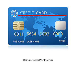 realista, tarjeta, credito