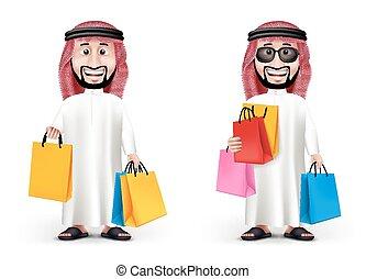 Realistic 3D Handsome Saudi Arab Ma