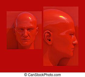 Pop Art Heads