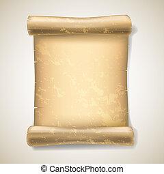realistic ancient scrolls
