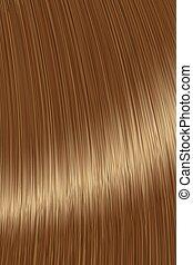 Realistic brown straight hair lock texture