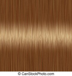 Realistic brown straight hair texture