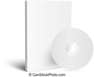 Realistic Case for DVD Or CD Disk with DVD Or CD Disk....