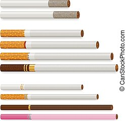 Realistic Cigarette Set