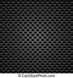 Realistic dark carbon fiber weave background or texture
