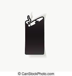 realistic design element: cigar