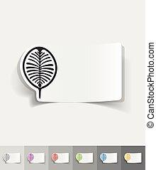 realistic design element. palm Jebel Ali - palm Jebel Ali...