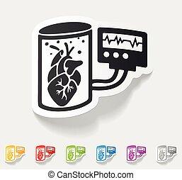 realistic design element. tissue engineering