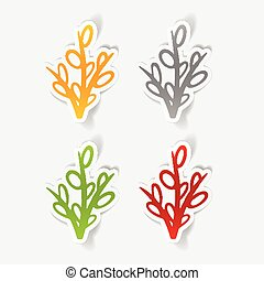realistic design element: willow