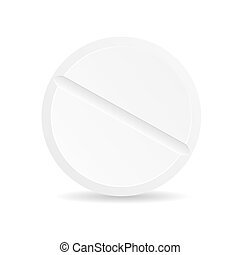 Realistic Detailed 3d Template Blank White Tablete. Vector
