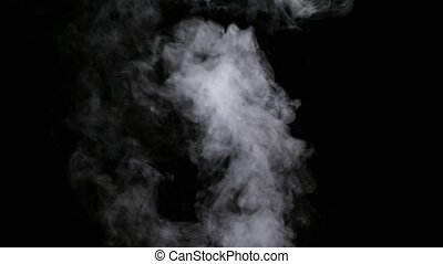 Realistic Dry Smoke Clouds Fog - Realistic dry smoke clouds...