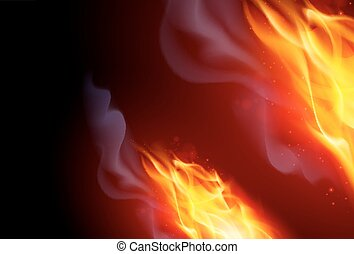 Fire Flames Effect