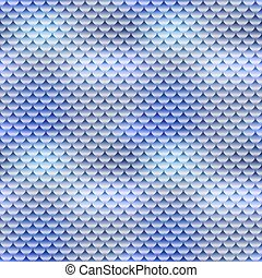 Realistic fish skin texture, detailed seamless pattern