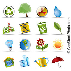 Realistic Icon - Ecology