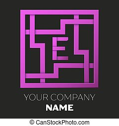 maze letter e worksheet for learning alphabet recognizing capital