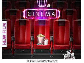 Realistic Movie Premiere Poster
