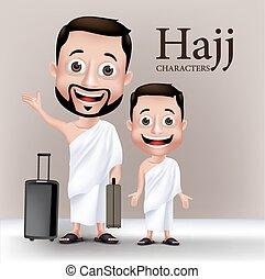Realistic Muslim Man Character - 3D Realistic Muslim Man and...