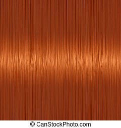 Realistic orange red straight hair texture