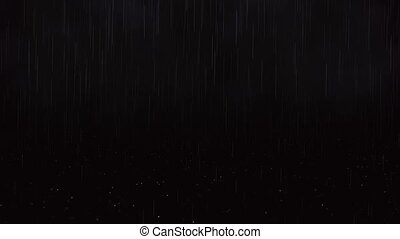 Realistic rain and water droplets on transparent background....