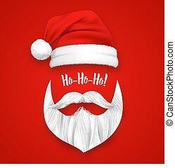 Realistic Santa Claus Christmas Mask