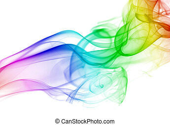 realistic smoke background - realistic smoke waves...