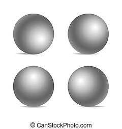 Realistic sphere isolated