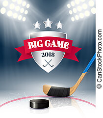 Realistic Sport Poster - Big sport game poster realistic...