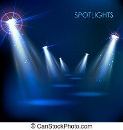 Realistic Spot Light Effect