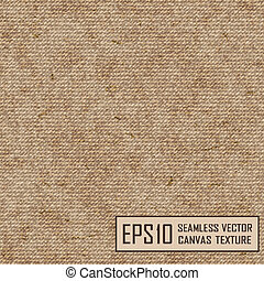 Realistic texture of burlap, canvas. Beige, brown.