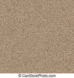 Realistic diagonal texture of burlap, canvas.