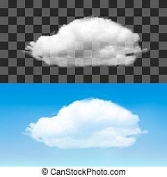 Realistic vector cloud