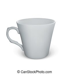 Realistic vector cup