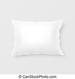 Realistic vector pillow