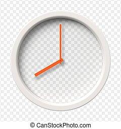Realistic Wall Clock