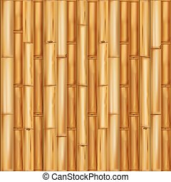 wooden bamboo background. Seamless pattern