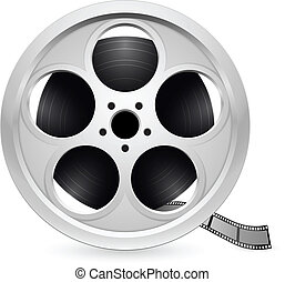 realistico, bobina, di, film