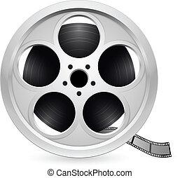 realistico, bobina, film
