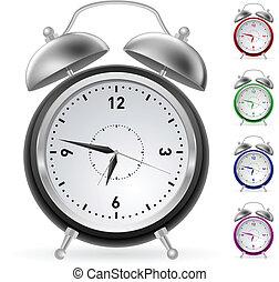 realistico, colorito, orologio