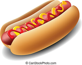 realistico, hot dog