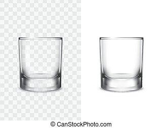 realistico, occhiali bevono