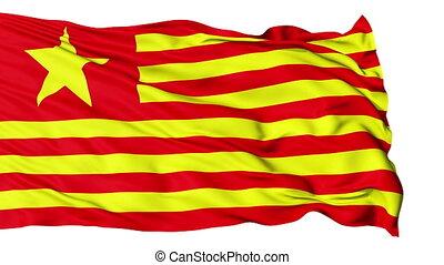 realistisch, china-usa, vlag