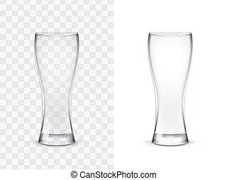 realistisch, drinkende glazen