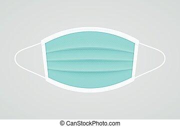 realistisch, pictogram, confronteren vermomming