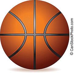 realistisk, basketboll