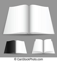 realistiske, tidskrift, antal, sæt, æn