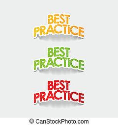 realistyczny, element:, praktyka, projektować, najlepszy