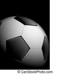 realistyczny, piłka do gry w nogę