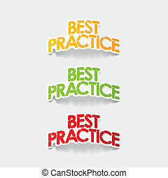 realistyczny, projektować, element:, najlepszy, praktyka